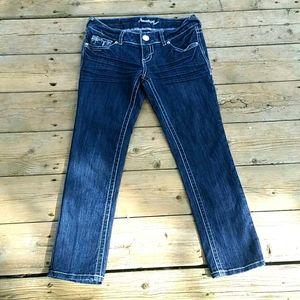 Amethyst Jeans Size 1 Capris